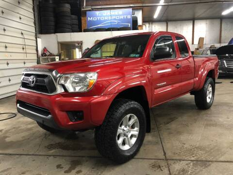 2013 Toyota Tacoma for sale at T James Motorsports in Gibsonia PA