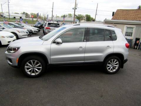 2017 Volkswagen Tiguan for sale at American Auto Group Now in Maple Shade NJ