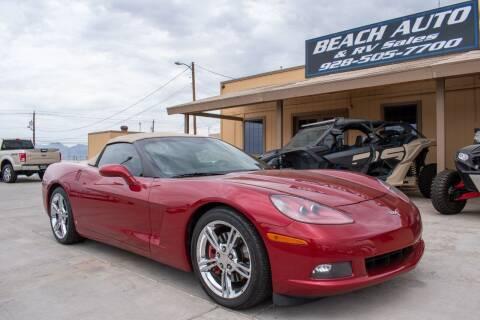2008 Chevrolet Corvette for sale at Beach Auto and RV Sales in Lake Havasu City AZ