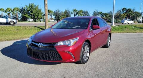 2017 Toyota Camry for sale at FLORIDA USED CARS INC in Fort Myers FL