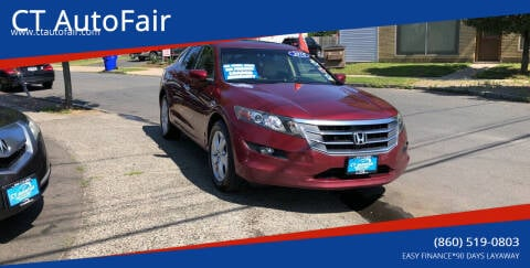 2010 Honda Accord Crosstour for sale at CT AutoFair in West Hartford CT