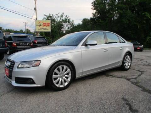 2011 Audi A4 for sale at AUTO STOP INC. in Pelham NH