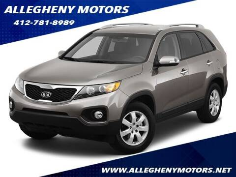 2013 Kia Sorento for sale at Allegheny Motors in Pittsburgh PA