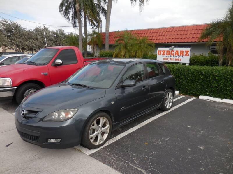 2008 Mazda MAZDA3 for sale at Uzdcarz Inc. in Pompano Beach FL