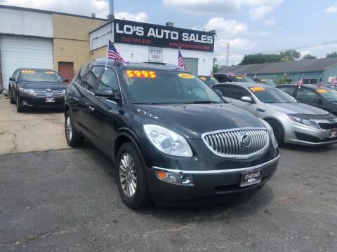 2011 Buick Enclave for sale at Lo's Auto Sales in Cincinnati OH