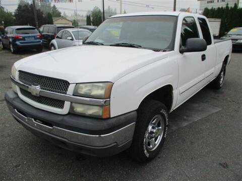 2004 Chevrolet Silverado 1500 for sale at GMA Of Everett in Everett WA