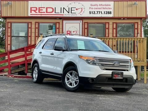 2013 Ford Explorer for sale at REDLINE AUTO SALES LLC in Cedar Creek TX