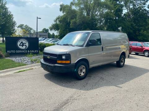 2004 Chevrolet Express Cargo for sale at Station 45 Auto Sales Inc in Allendale MI