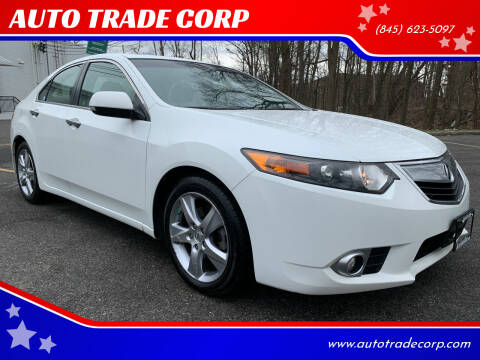2012 Acura TSX for sale at AUTO TRADE CORP in Nanuet NY
