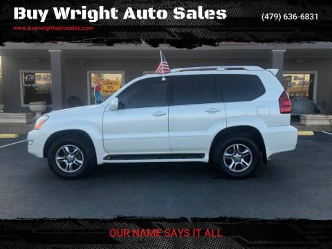 2008 Lexus GX 470 for sale at Buy Wright Auto Sales in Rogers AR