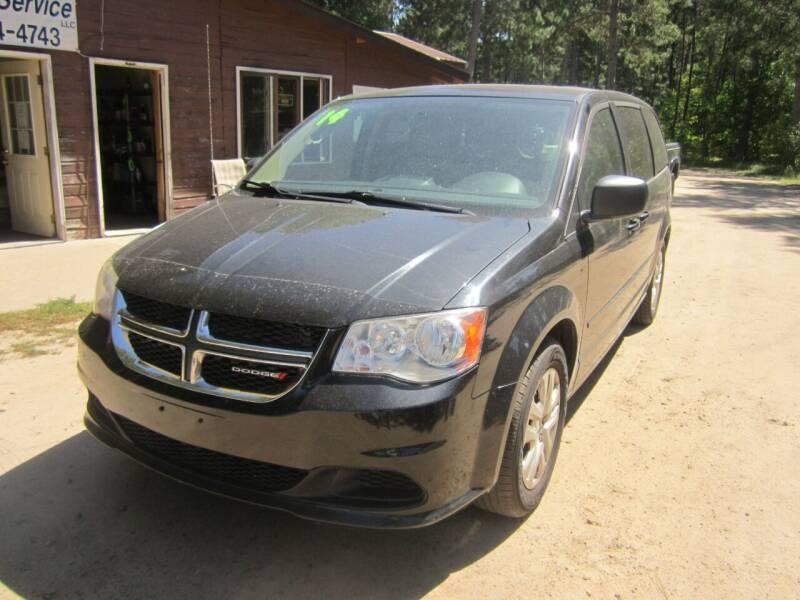 2014 Dodge Grand Caravan for sale at SUNNYBROOK USED CARS in Menahga MN