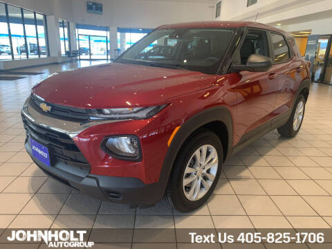 2021 Chevrolet TrailBlazer for sale at JOHN HOLT AUTO GROUP, INC. in Chickasha OK