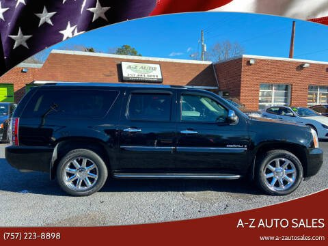 2008 GMC Yukon XL for sale at A-Z Auto Sales in Newport News VA