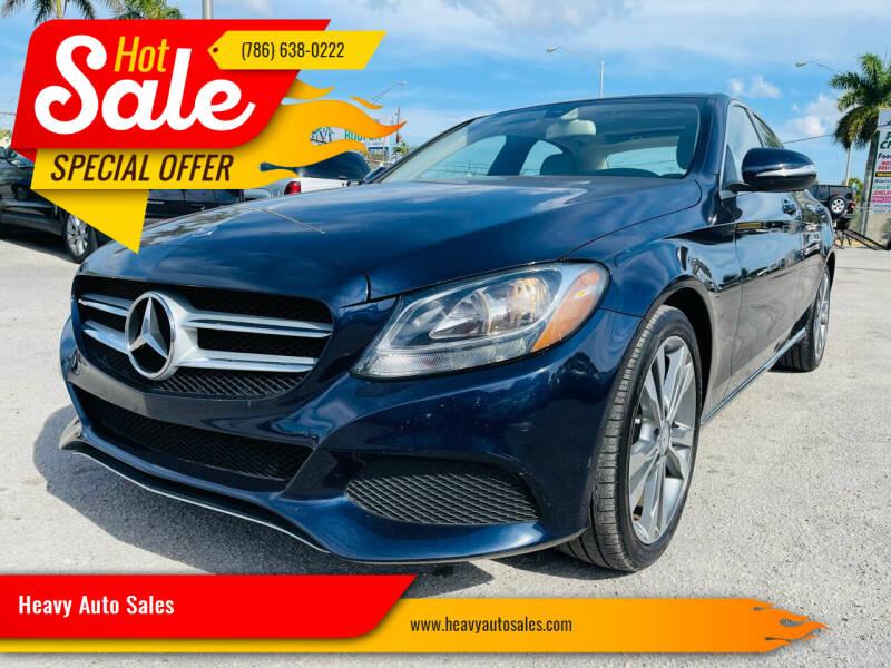 2015 Mercedes-Benz C-Class for sale at Heavy Auto Sales in Miami FL