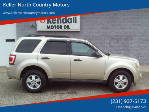 2011 Ford Escape for sale at Keller North Country Motors in Howard City MI