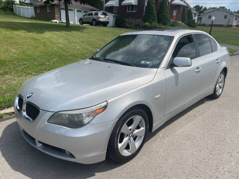 2007 BMW 5 Series for sale at Trocci's Auto Sales in West Pittsburg PA