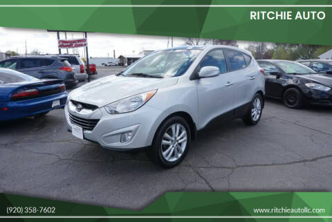 2012 Hyundai Tucson for sale at Ritchie Auto in Appleton WI