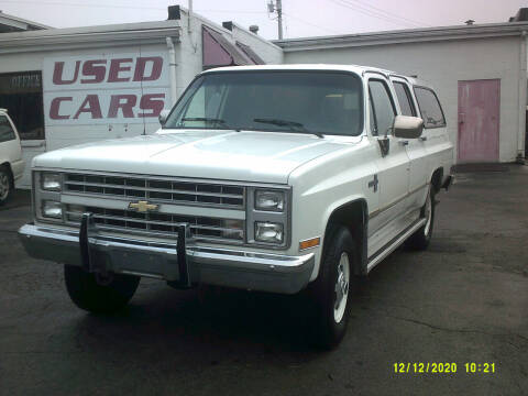 1988 Chevrolet Suburban for sale at M & M Inc. of York in York PA
