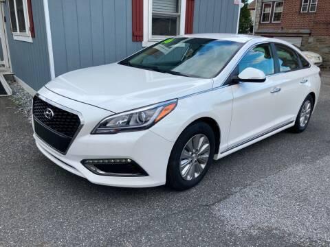 2016 Hyundai Sonata Hybrid for sale at Sharon Hill Auto Sales LLC in Sharon Hill PA