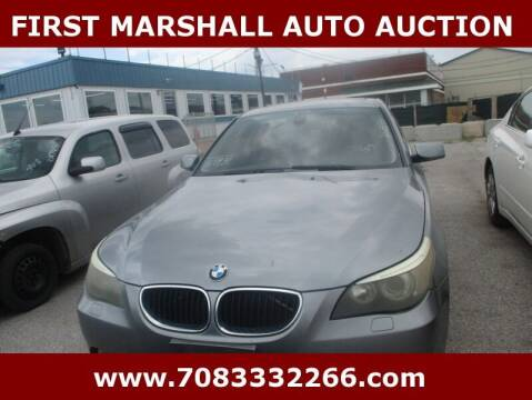 2005 BMW 5 Series for sale at First Marshall Auto Auction in Harvey IL