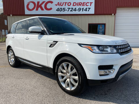 2014 Land Rover Range Rover Sport for sale at OKC Auto Direct, LLC in Oklahoma City OK