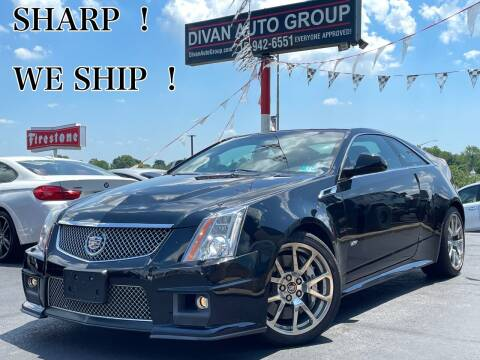 2011 Cadillac CTS-V for sale at Divan Auto Group in Feasterville Trevose PA