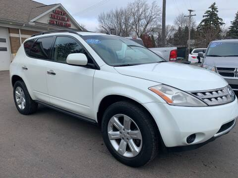 2007 Nissan Murano for sale at A 1 Motors in Monroe MI