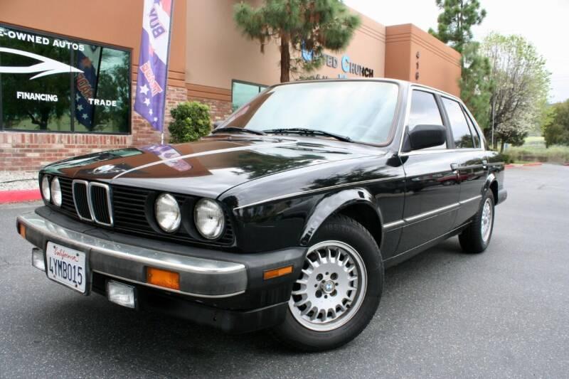 1987 BMW 3 Series for sale at CK Motors in Murrieta CA