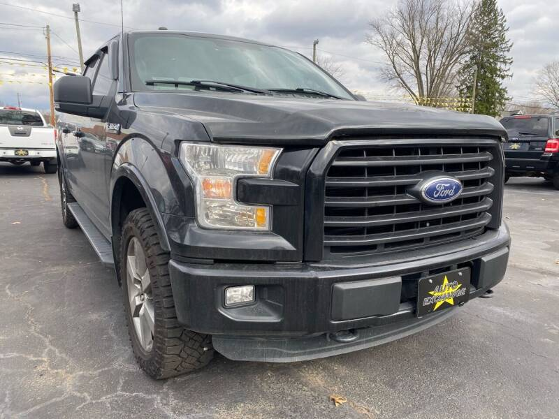 2016 Ford F-150 for sale at Auto Exchange in The Plains OH