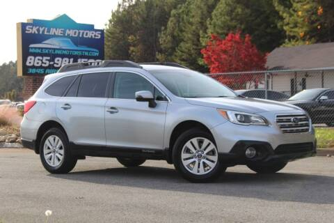 2016 Subaru Outback for sale at Skyline Motors in Louisville TN
