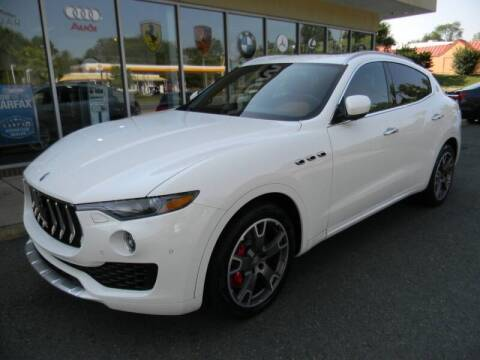 2017 Maserati Levante for sale at Platinum Motorcars in Warrenton VA