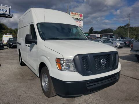 2017 Nissan NV Cargo for sale at Mars auto trade llc in Kissimmee FL