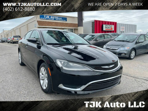 2016 Chrysler 200 for sale at TJK Auto LLC in Omaha NE