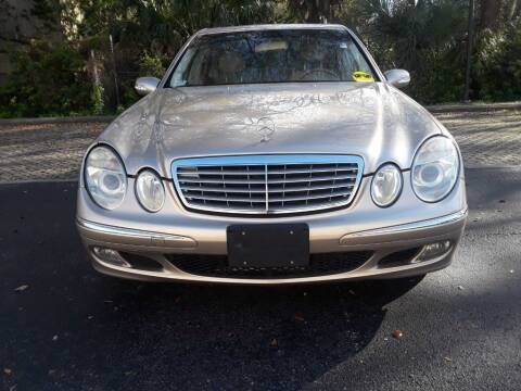 2005 Mercedes-Benz E-Class for sale at AUTO IMAGE PLUS in Tampa FL