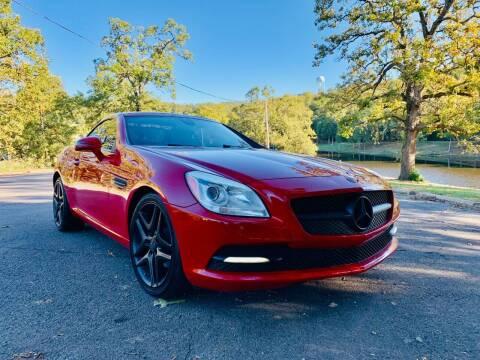 2012 Mercedes-Benz SLK for sale at McAllister's Auto Sales LLC in Van Buren AR