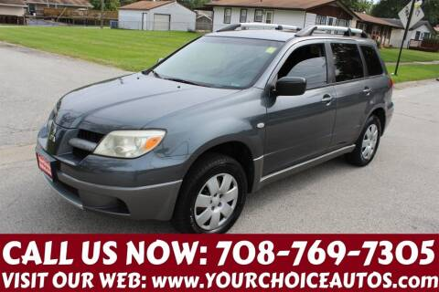 2006 Mitsubishi Outlander for sale at Your Choice Autos in Posen IL
