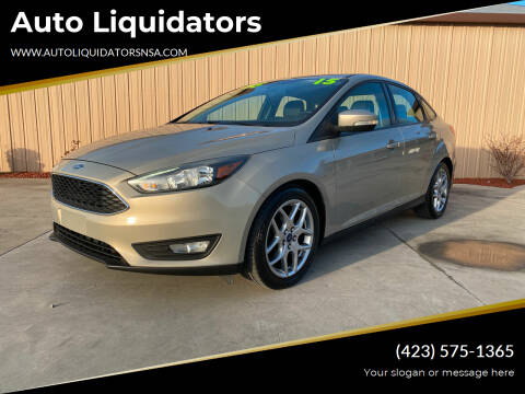 2015 Ford Focus for sale at Auto Liquidators in Bluff City TN