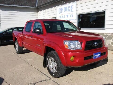 2010 Toyota Tacoma for sale at Choice Auto in Carroll IA