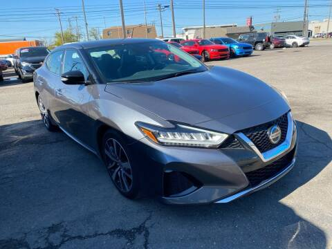 2020 Nissan Maxima for sale at M-97 Auto Dealer in Roseville MI