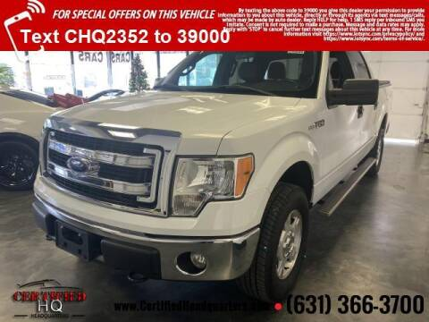 2014 Ford F-150 for sale at CERTIFIED HEADQUARTERS in St James NY