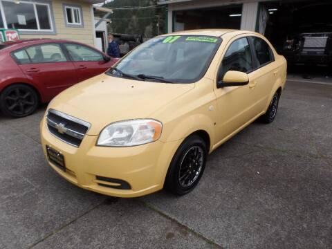 2007 Chevrolet Aveo for sale at Gold Key Motors in Centralia WA