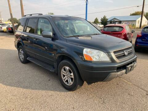 2003 Honda Pilot for sale at AFFORDABLY PRICED CARS LLC in Mountain Home ID