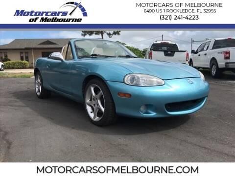 2001 Mazda MX-5 Miata for sale at Motorcars of Melbourne in Rockledge FL