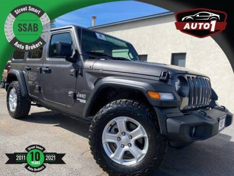 2019 Jeep Wrangler Unlimited for sale at Street Smart Auto Brokers in Colorado Springs CO