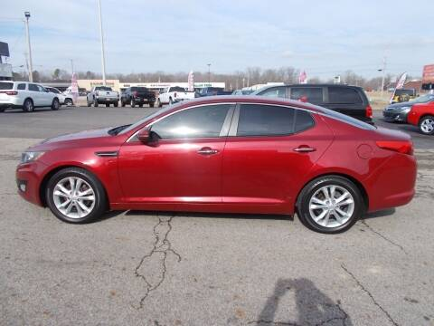 2012 Kia Optima for sale at West TN Automotive in Dresden TN