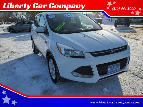 2015 Ford Escape for sale at Liberty Car Company in Waterloo IA