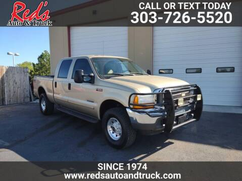 2001 Ford F-250 Super Duty for sale at Red's Auto and Truck in Longmont CO
