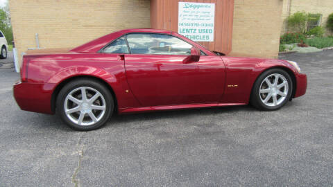 2006 Cadillac XLR for sale at LENTZ USED VEHICLES INC in Waldo WI