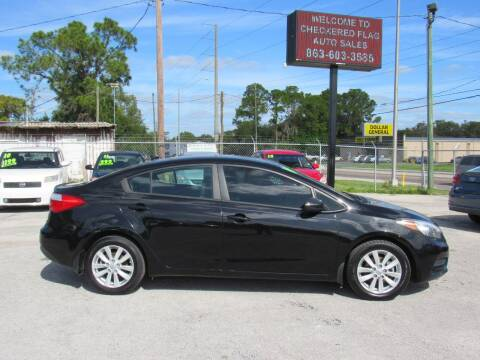 2014 Kia Forte for sale at Checkered Flag Auto Sales EAST in Lakeland FL