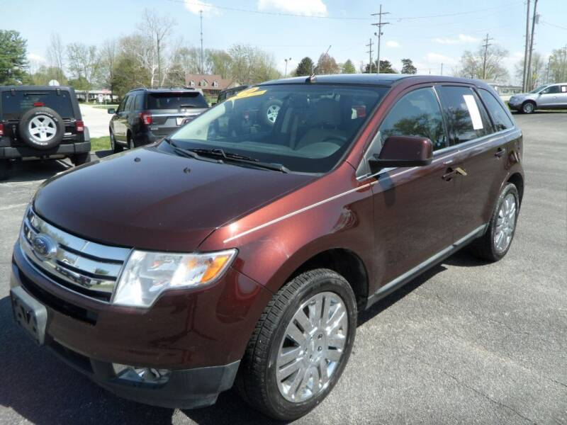 2010 Ford Edge for sale at CARSON MOTORS in Cloverdale IN
